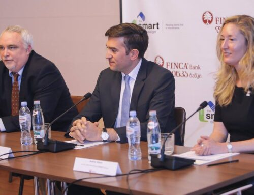 FINCA Bank Georgia became the first Smart Certified financial Institution in Georgia