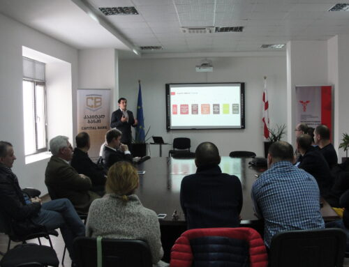 """Presentations of """"Creditinfo Georgia"""" and Software Group"""